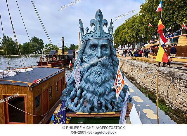 France, Loiret, Orleans, Loire festival