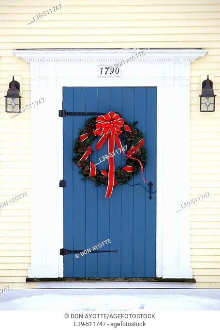 Doorway in Vermont town, USA