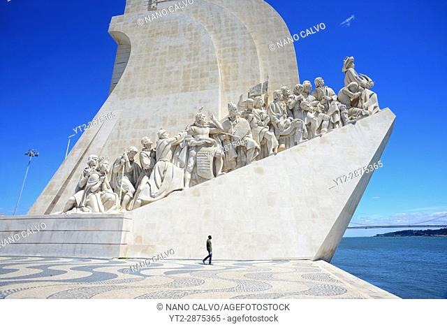 "The Monument to the Discoveries (in Portuguese ""Padrão do Descobrimentos""), created by Cottinelli Telmo (1897–1948) and the sculptor Leopoldo de Almeida..."