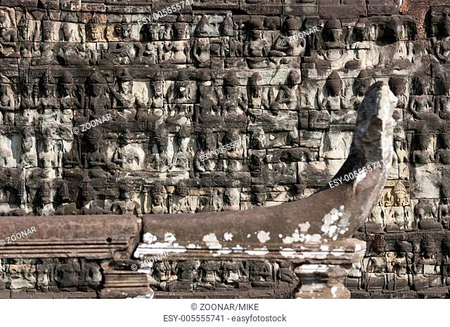 Terace of the Leper King, Angkor Thom