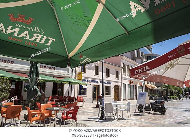 Albania, Shkoder, old town, daily life