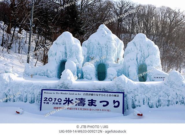 Chitose and Shacmizumi Coori festival
