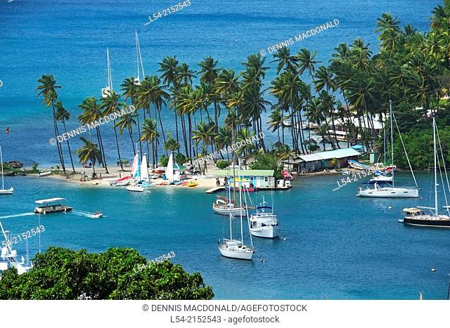 Marigot Bay St. Lucia Caribbean Island Cruise Windward Islands Lesser Antilles Norwegian Sun