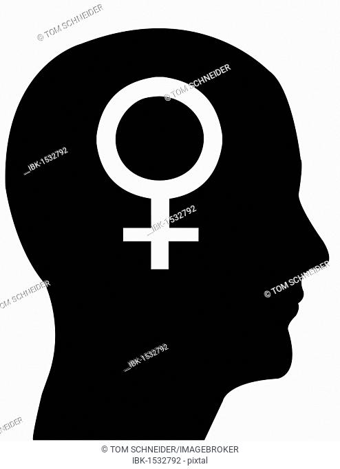 Silhouette Of A Man Beating A Woman Symbolic Image For Domestic
