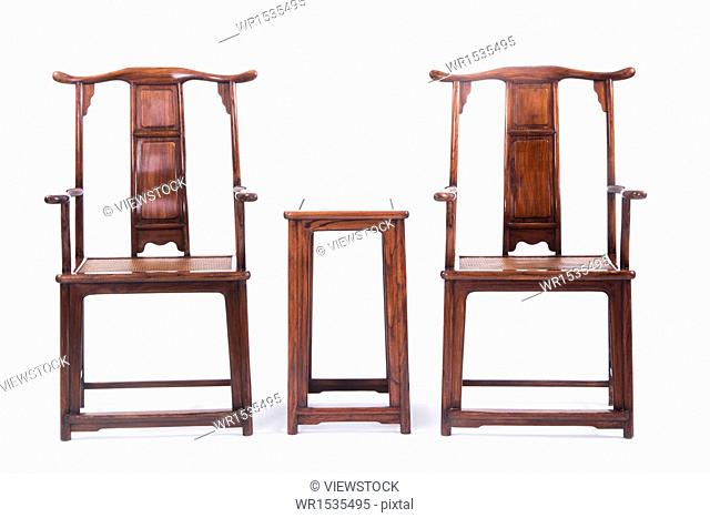 Classic Chinese table and chairs