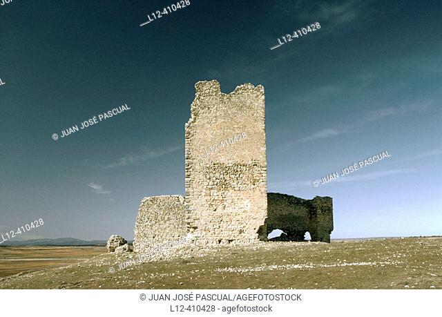 Castle of the moon. Torresaviñan. Guadalajara province. Spain