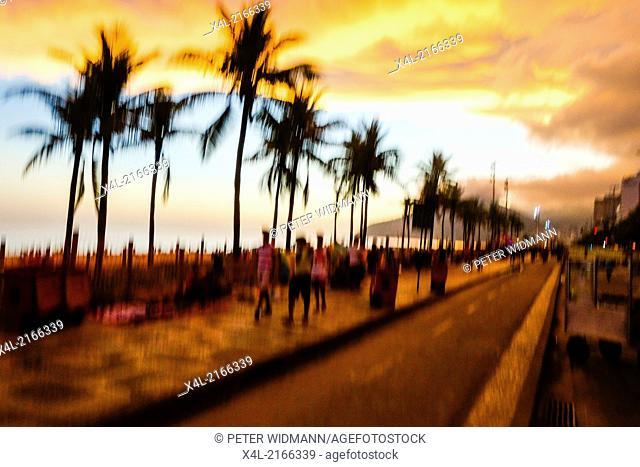 Rio de Janeiro, Ipanema Beach, Brazil