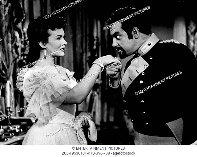 RELEASED: Feb 27, 1953 - Original Film Title: Bandits of Corsica. (Credit Image: © Entertainment Pictures/Entertainment Pictures/ZUMAPRESS.com)