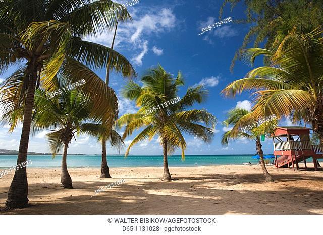 Puerto Rico, East Coast, Luquillo, Playa Luquillo Beach