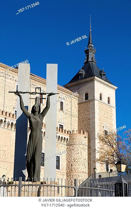 Alcazar, Toledo, Castilla la Mancha, Spain