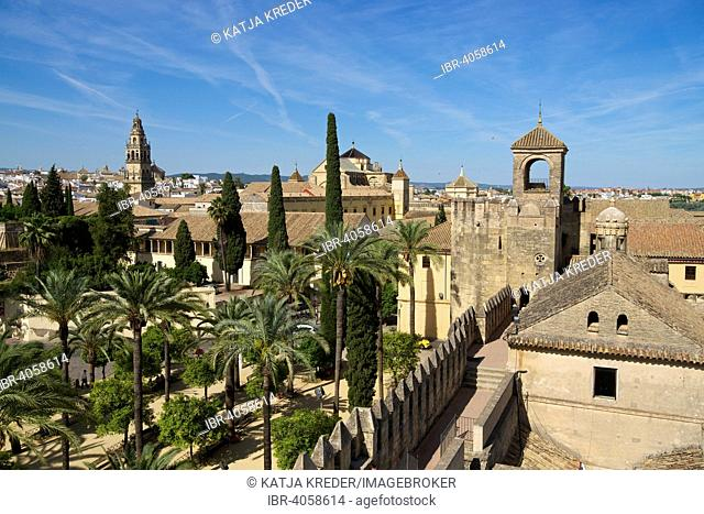 Alcázar de los Reyes Cristianos, Córdoba province, Andalucía, Spain