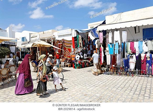Houmt Souk market, Djerba Island, Tunisia, Maghreb, North Africa, Africa