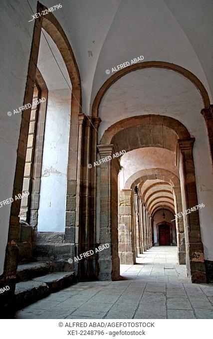 hallway, University of Cervera, eighteenth century, Catalonia, Spain