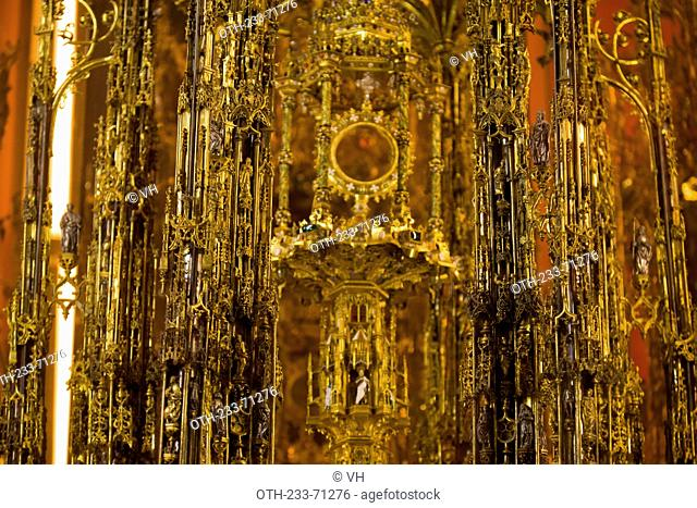 Chapel of Treasure, The Primate Cathedral of Saint Mary, XIII-XV centureis, Toledo, Castilla la Mancha, Spain, Europe