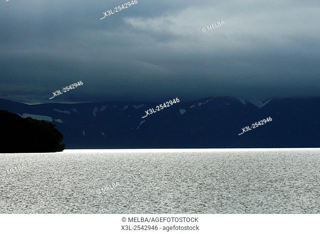 Kurile lake. Kamchatka. Siberia, Russia