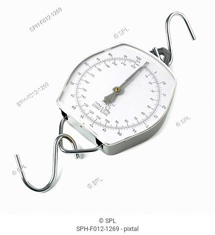 Spring dial weighing scales