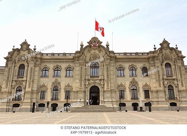 Palacio de Gobierno, Lima, Peru