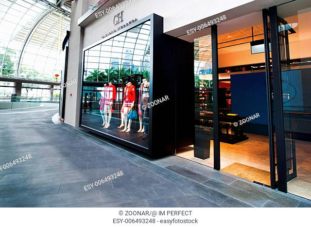 Carolina Herrera boutique at Marina Bay Sands