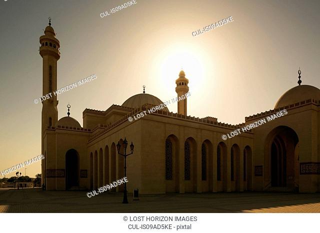 Al Fateh Grand Mosque at sunset, Manama, Bahrain