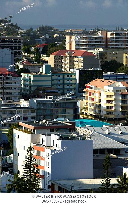 New Caledonia - Grande Terre Island - Noumea: City View from FOL viewpoint in the morning