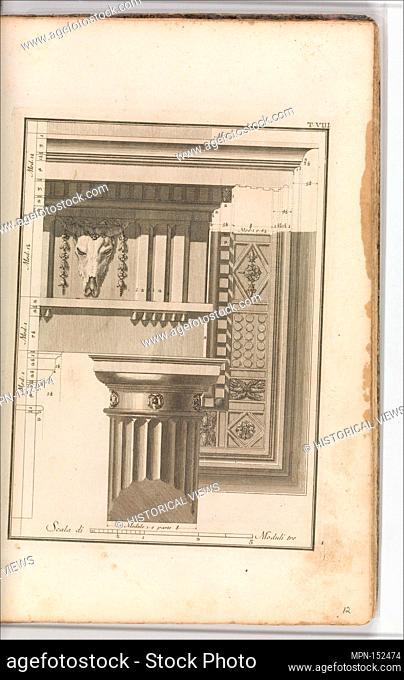 Il Vignola Illustrato Proposto da Giambattista Spampani, e Carlo Antonini. Author: Jacopo [Giacomo] Barozzi da Vignola (Italian