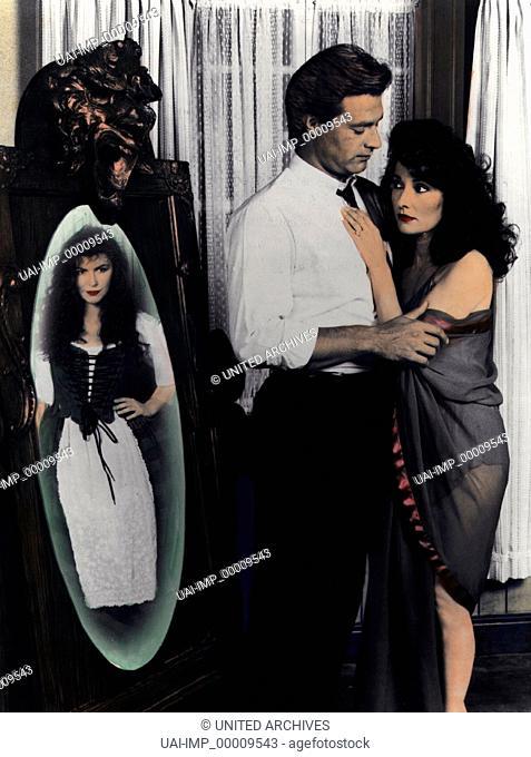 Im Spiegel lauert der Tod, (SECRET PASSIONS) USA-CAN 1987, Regie: Michael Pressman, FINOLA HUGHES, JOHN JAMES, SUSAN LUCCI