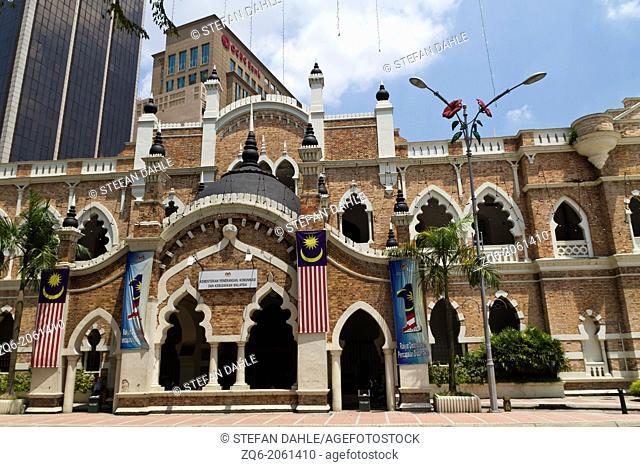 Historical Building at the Merdeka Square in Kuala Lumpur, Malaysia