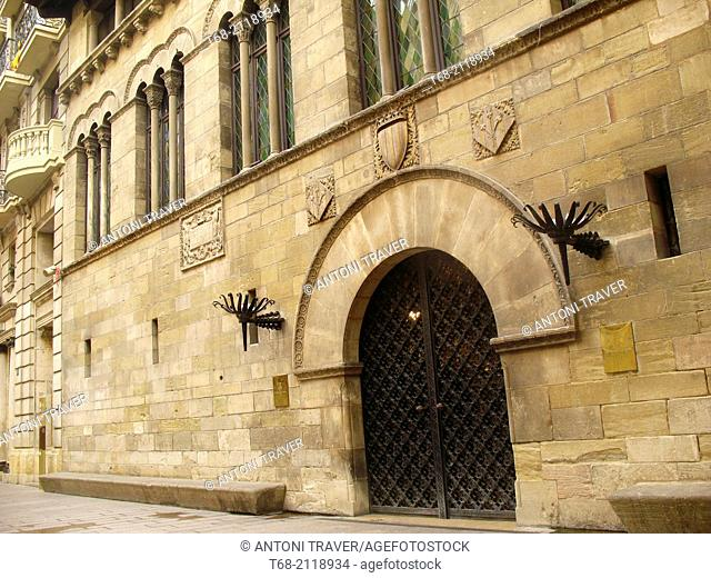 La Paeria (city hall), Lleida, Catalonia, Spain