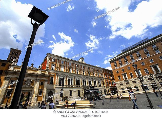 Church of San Silvestro in Capite in San Silvestro Square, Rome, Lazio, Italy