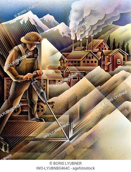 Mining collage