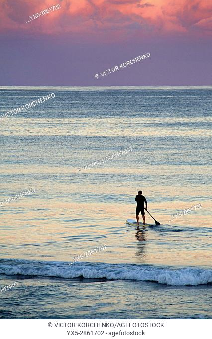 Stand up paddle boarding (SUP), Fort Lauderdale, Florida