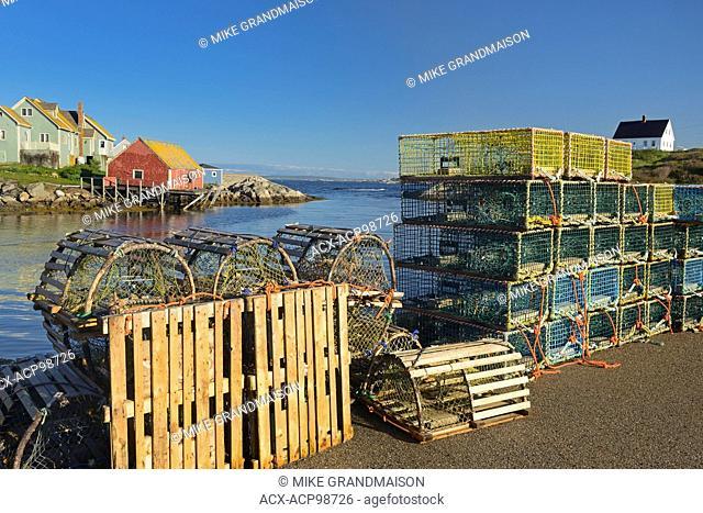 Coastal fishing village on the Atlantic Ocean Peggy's Cove Nova Scotia Canada