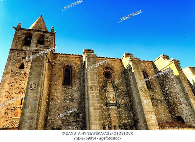 Santiago Church in Cáceres, UNESCO World Heritage, Extremadura, Spain, Europe
