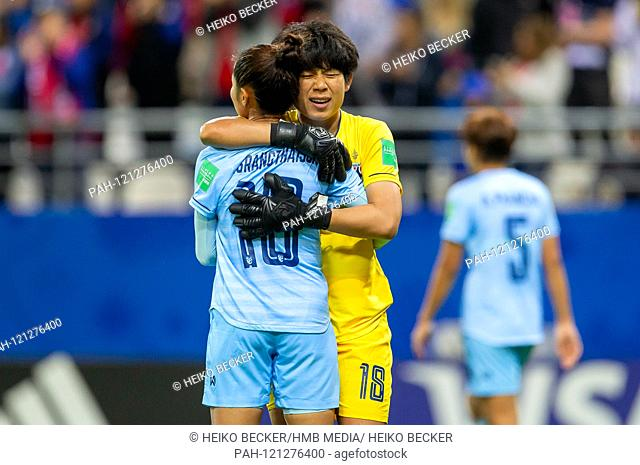 France, Reims, Stade Auguste-Delaune, 11.06.2019, Football - FIFA Women's World Cup - USA - Thailand Picture: from the disappointment of Sunisa Srangthaisong...