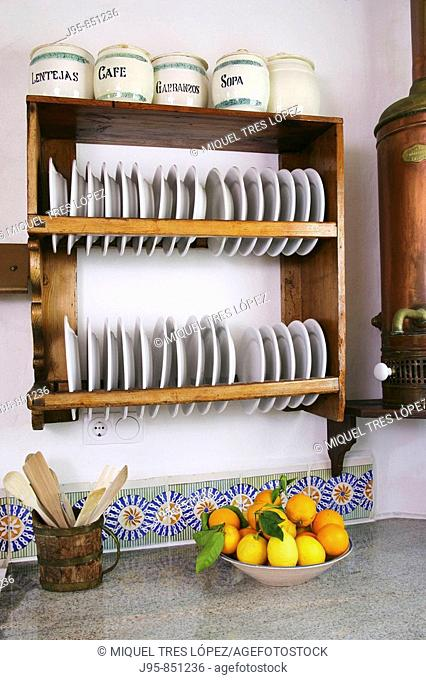 Kitchen detail of a country house
