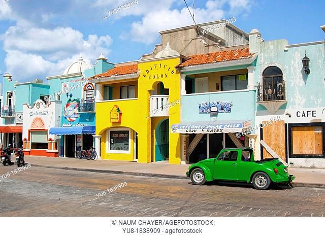 San Miguel de Cozumel, Cozumel, Mexico, Western Caribbean, Central America