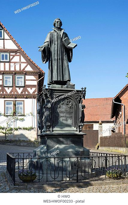 Germany, Moehra, Luther Monument