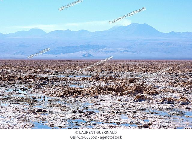 Los Flamencos Reserve National, Salar do Atacama, Atacama Desert, Region de Antofagasta, Santiago, Chile