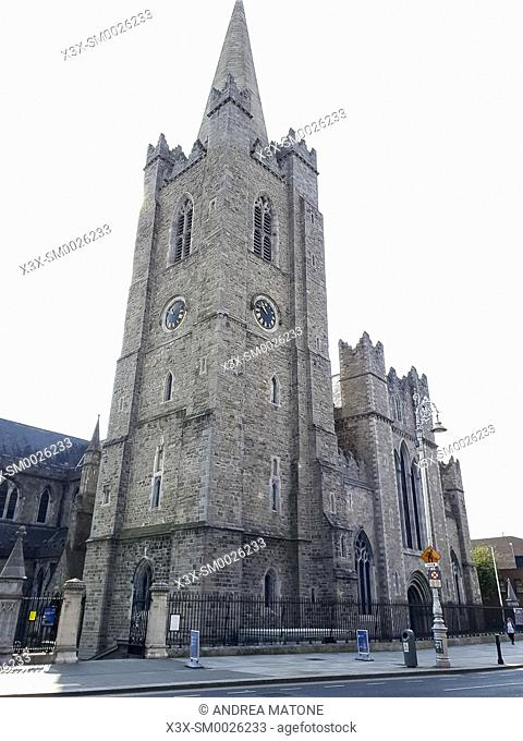 Saint Patrickâ. . s Cathedral, Dublin, Ireland, Europe