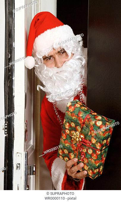 Man Santa Claus