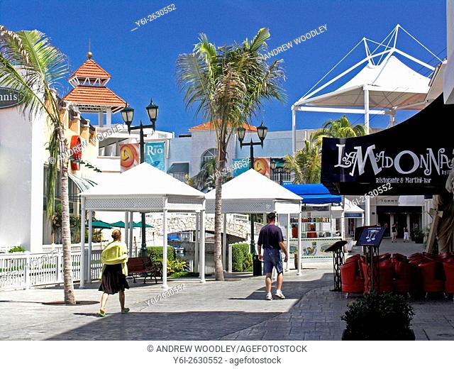 La Isla shopping mall Cancun Qintana Roo Mexico