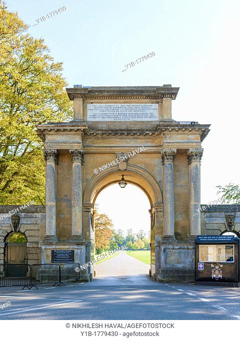 Woodstock Gate, Blenhiem Palace