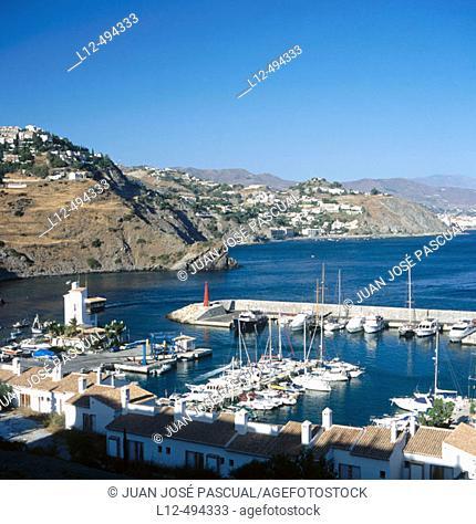 Marina del Este, Almuñécar. Granada province, Andalusia, Spain