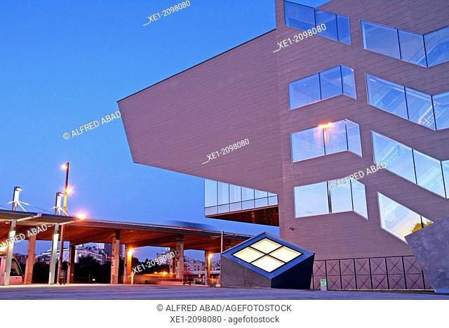 DHUB building, Design Museum, 2013, arch. Martorell, Bohigas and Mackay, Barcelona, Catalonia, Spain