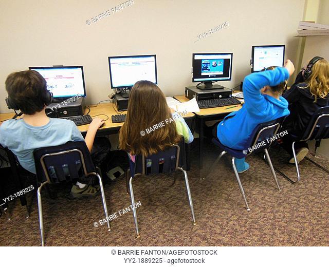 Computer Class, Wellsville, New York