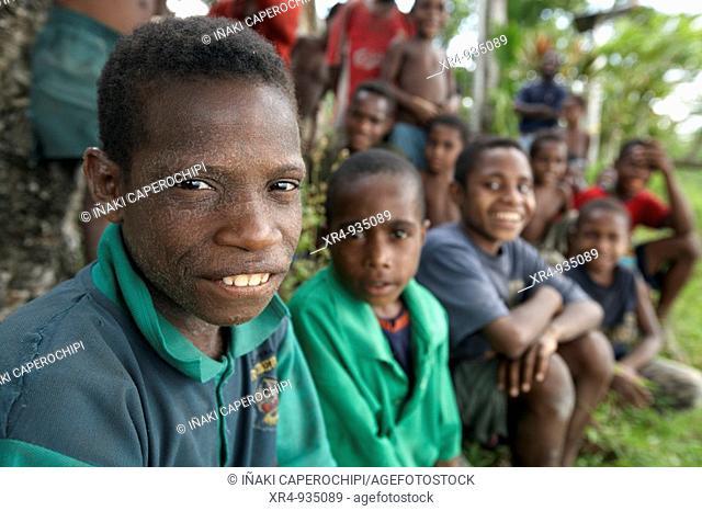 People, Swagup, East Sepik, Papua New Guinea