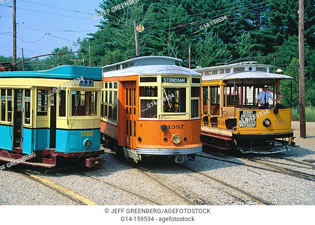 Seashore Trolley Museum. Kennebunkport. Maine. USA