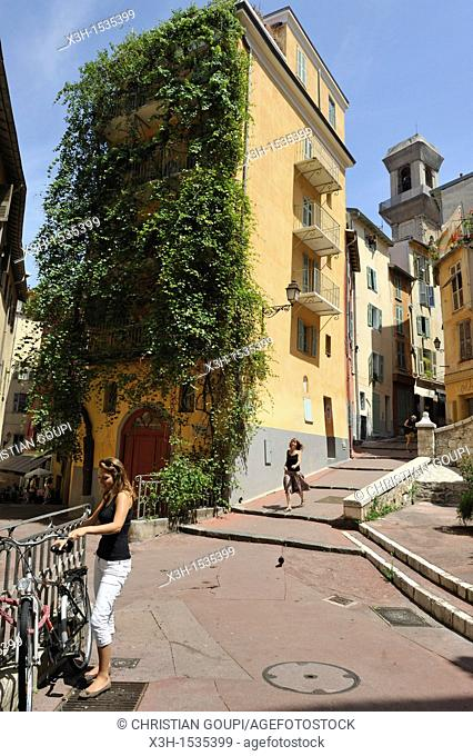 Saint Augustin street, Nice, Alpes-Maritimes department, Provence-Alpes-Cote d'Azur region, southeast of France, Europe
