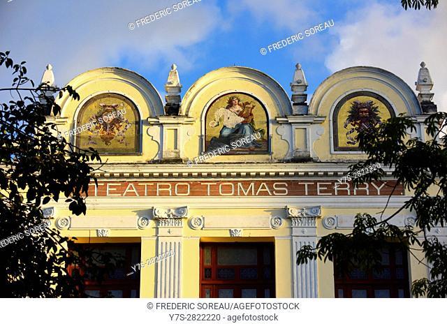 Theater Tomas Terry building in Cienfuegos, Cuba