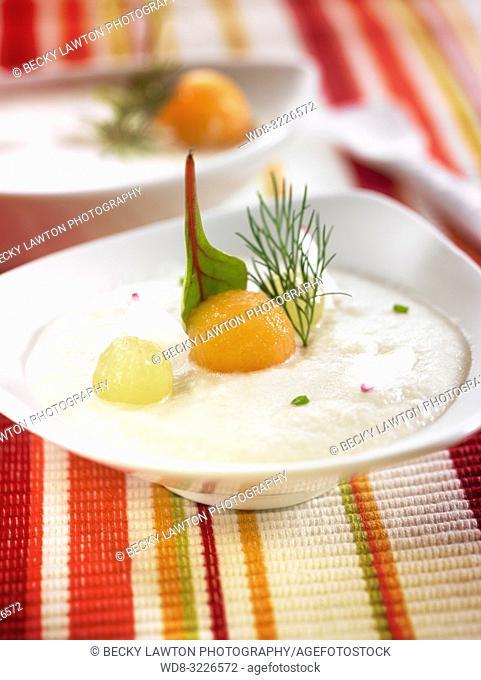 ajoblanco / ajoblanco cold soup
